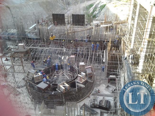 Construction of Itezhi tezhi hydro power plant underway