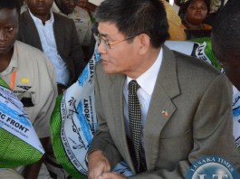 New Chinese ambassador to Zambia Yang Yoaming