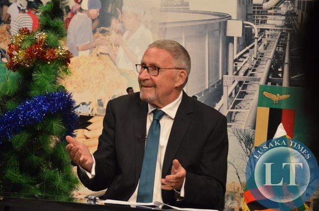 Acting President Guy Scott