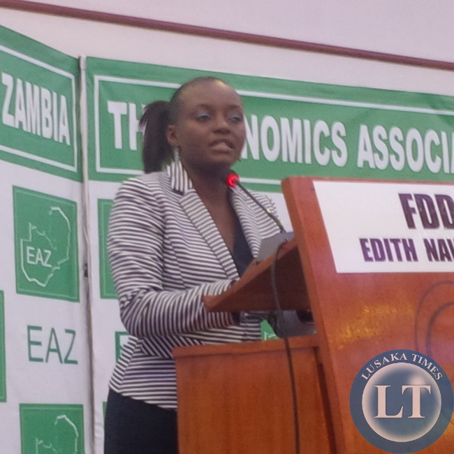 Moderator Kunda Mando explaining the delays in starting   the debate that never happened