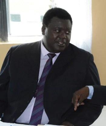 RDA board chairman Willie Nsanda