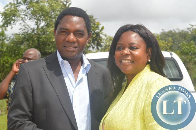 HH with Dr Maureen Mwanawasa