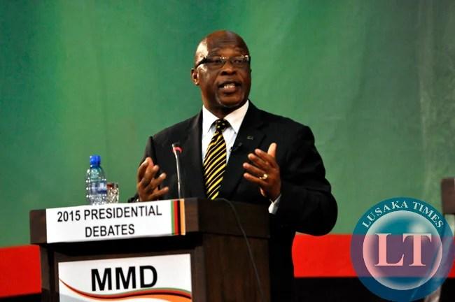 MMD's Dr Nevers Mumba