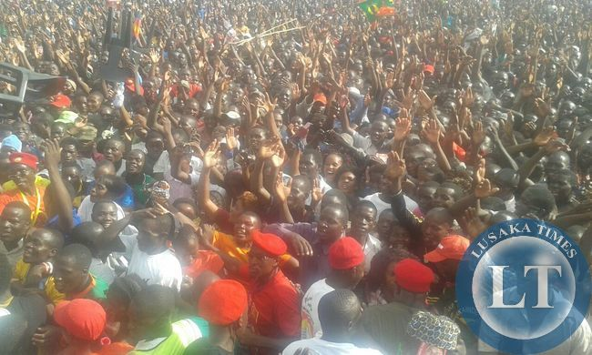 HH at  Mazabuka Rally