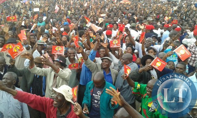UPND Monze Rally