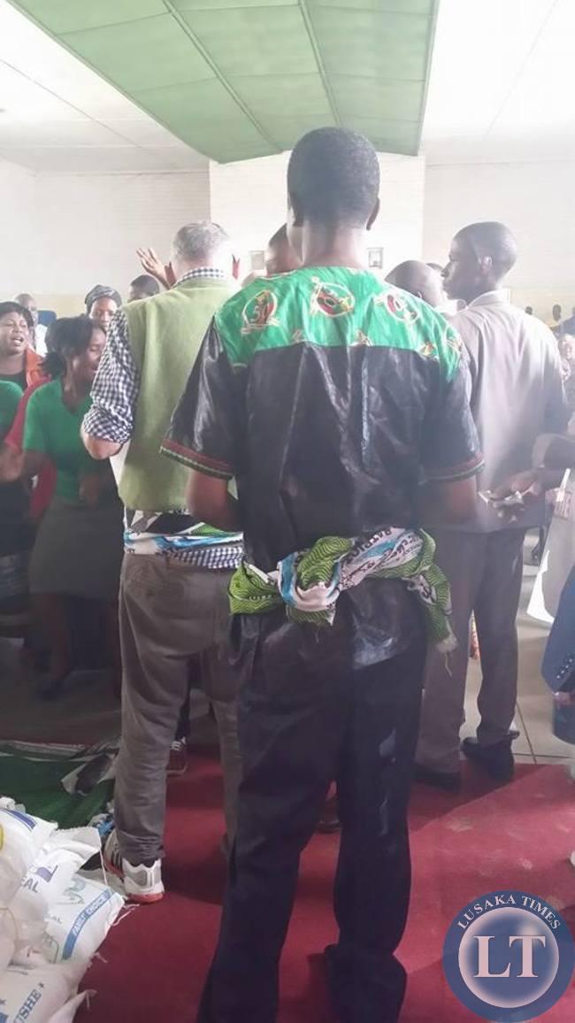 Miles Sampa and Edgar Lungu Reconciliation occasion in Matero