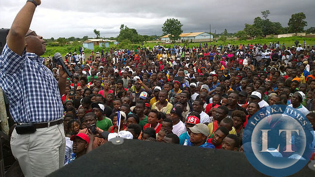 Part of the Kabwe Crowd