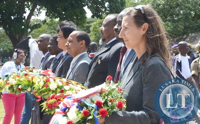 Ambassadors at Youth Day Celebrations