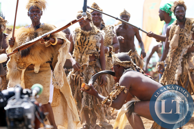 Chief Mpezeni Dancing