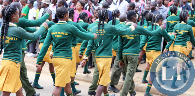 Youth Day Celebrations at the Freedom Statue in Lusaka on March 12,2015.PICTURE  BY EDDIE MWANALEZA/ STATEHOUSE.
