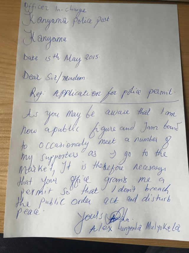 muk letter
