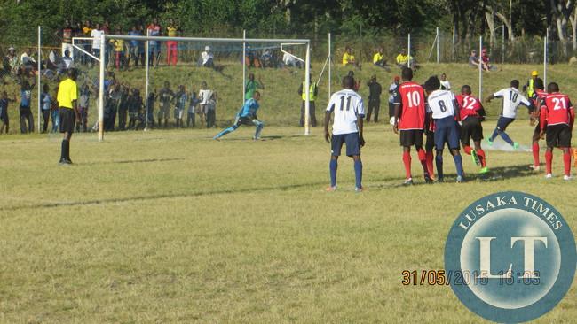 Lemabani Lungu penalty
