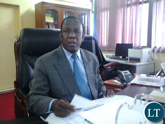 ECZ Chairman Essau Chulu