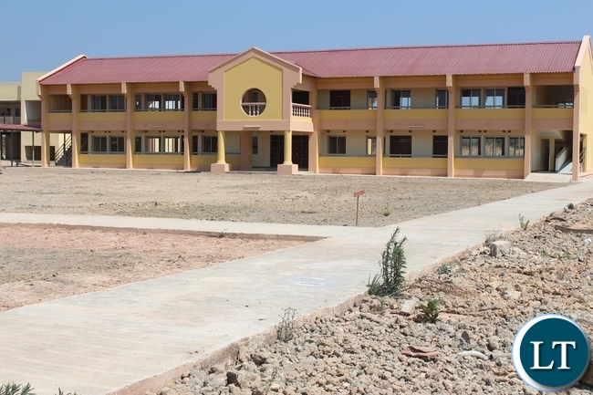 Robert Makasa University completed Lectures rooms