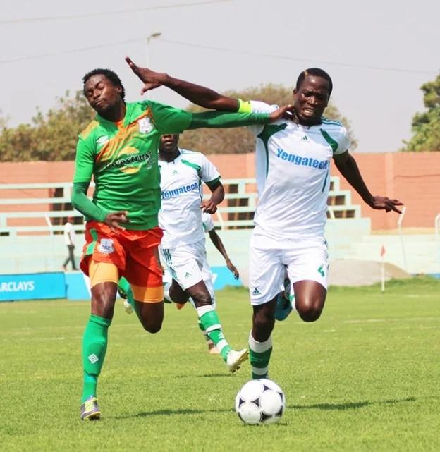 FILE: ZESCO United Jackson-Mwanza Mufulira Wanderers Malama Chisopa