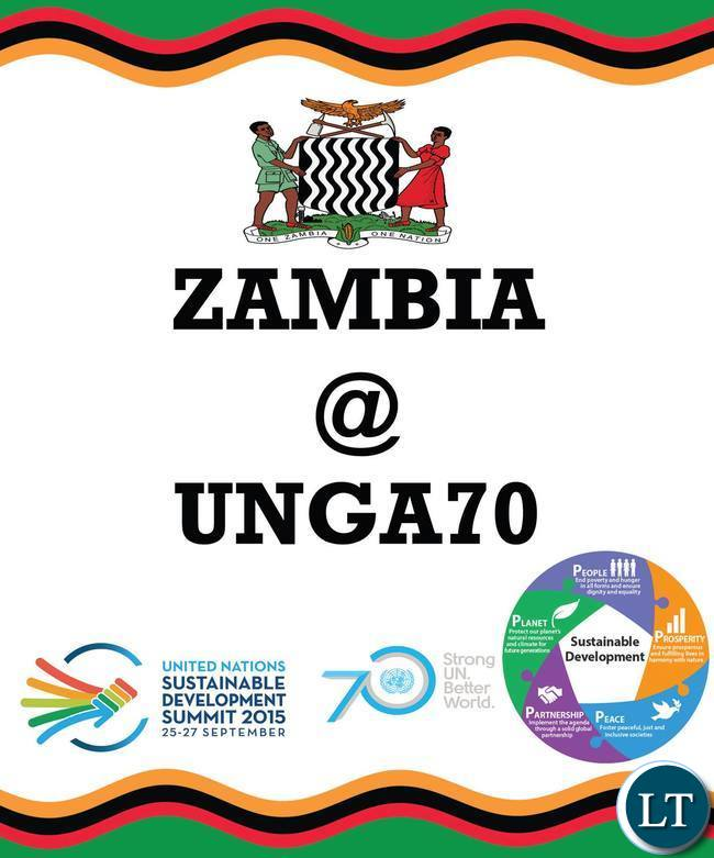 Some Artworks of the Zambian Mission to the UN that we will be using during 70th UN General Assembly