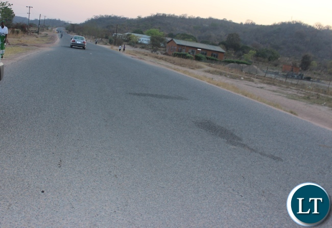 Construction of Itezhi-Tezhi Road in Itezhi-Tezhi district in Central Province is progressing well but at a slow pace. Above, the road shaping up , residents of this area hope this road can be completed quickly