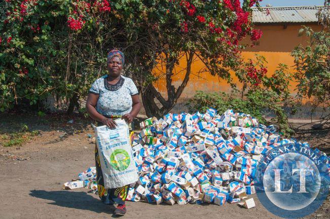 Manja Pamodzi collector Joyce Mwale