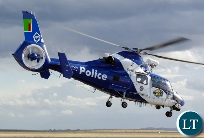 Zambia Police Helicopter