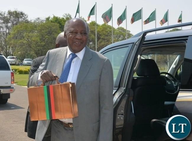 Finance Minister Alexander Chikwanda