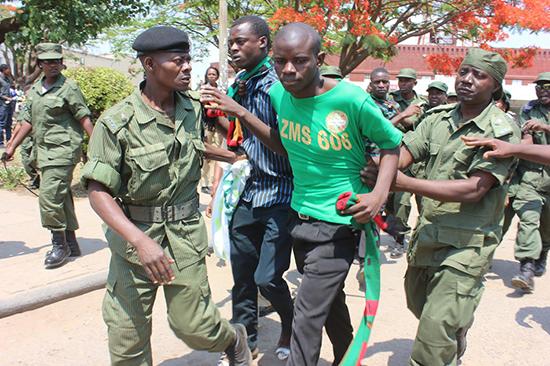 Copperbelt Student apprehended by Police