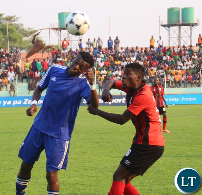 Barclays Bank Semi Final: Nkwazi Vs ZANACO, Nkwazi won on penalties 5-3 after 1-1 draw