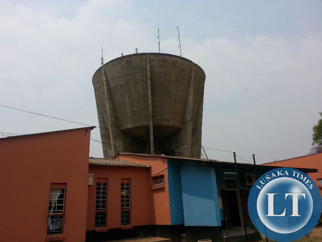 Large water tank sitting idle that could potential supply the entire hospital with water