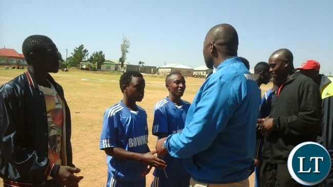 Inaugural Bowman Lusambo Football tournament