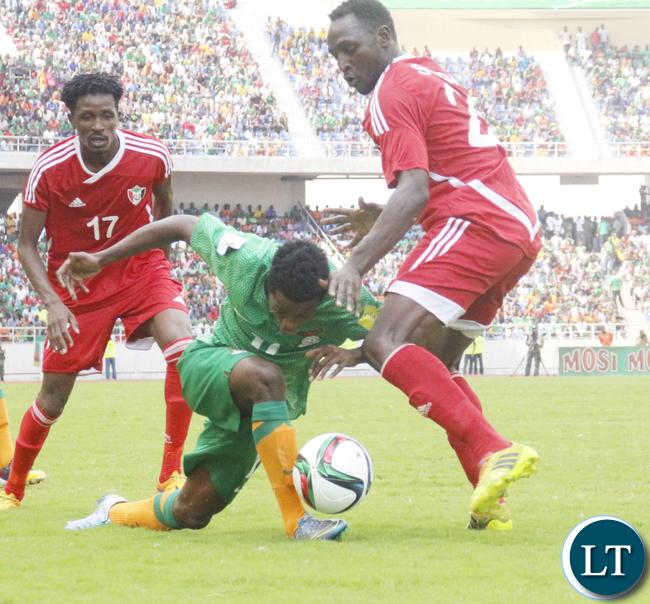 Zambia Vs Sudan