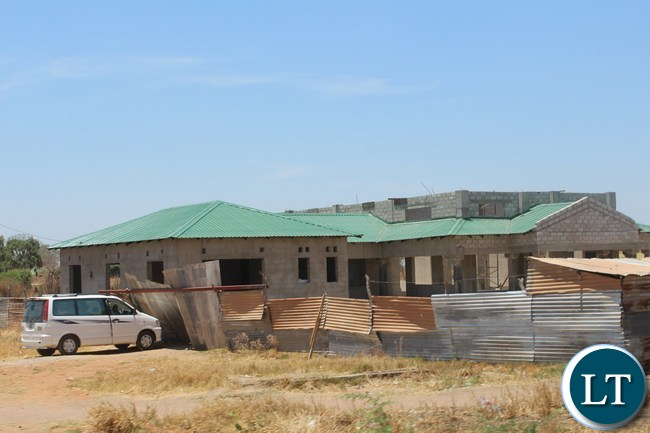 KALOMO District council will soon have a modern structure. In the picture is a new structure under construction.