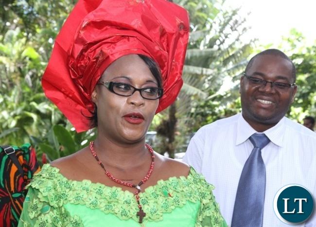 PF Deputy Secretary General Mumbi Phiri