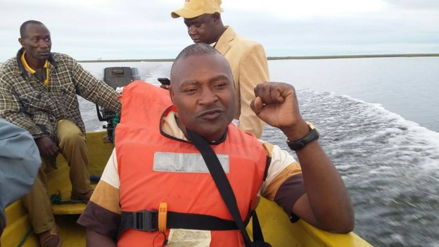 Father Bwalya on Chilubi Island Trip