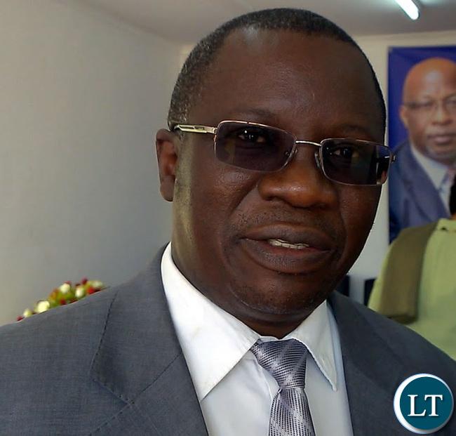 MMD National Secretary Mwansa Mbulakulima