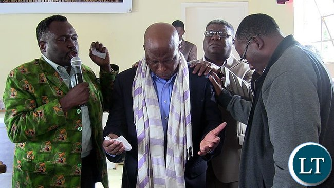 Ndola pastors Praying for Nevers mumba