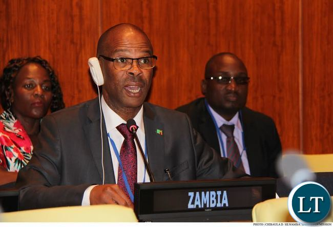 Zambia Finance Deputy Minister Christopher Mvunga