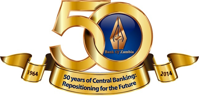 Bank of Zambia Jubilee Logo