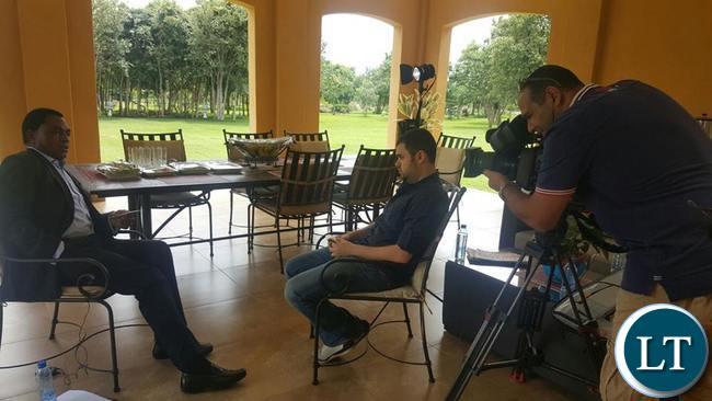 HH interviewed by AlJazeera