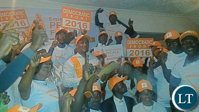 MIles Sampa Launching his Democratic Front Party