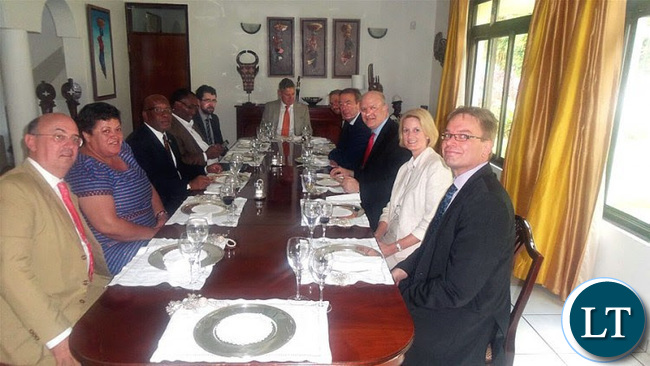 Luncheon with EU Ambassadors on Friday 19th February 2016