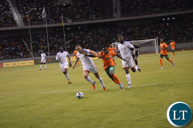 Zambia Vs Congo at Levy Mwanawasa Stadium