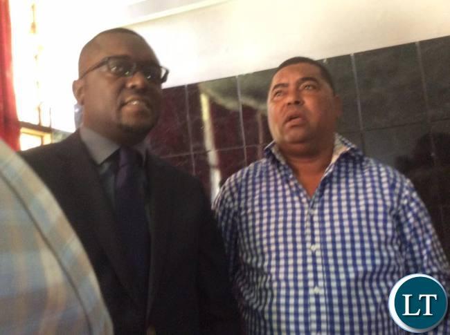 Gary Nkombo and Mwaliteta