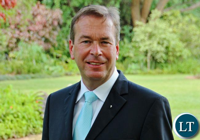 German Ambassador Bernd Finke