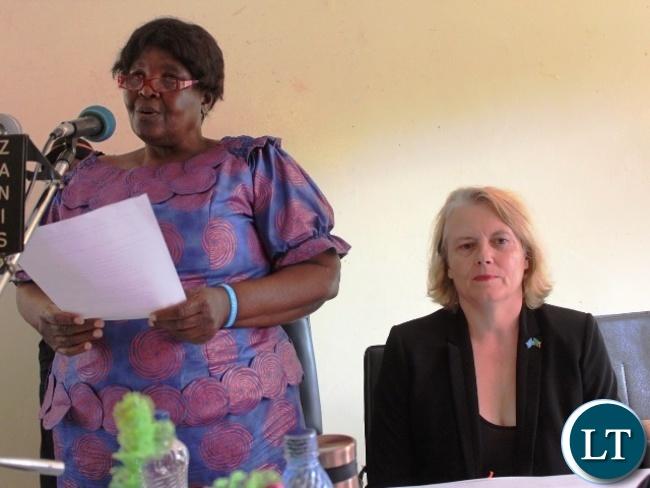 Gender Deputy Minister Dorothy Kazunga