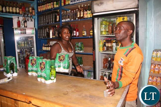 Alexis Sempundu was lucky to empty his shop for   safety