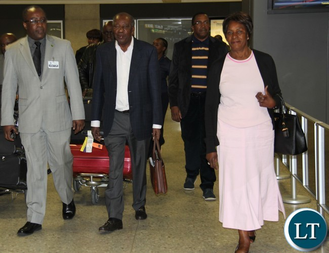 Zambia : Finance Minister Alexander Chikwanda in US for IMF