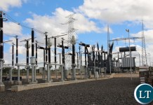 ZESCO Muzuma substation being upgraded to KV 330 (from KV 220) in order to be connected to the national grid as soon as the Maamba coal plant station is commissioned