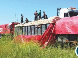 Maize being Smuggled to Malawi