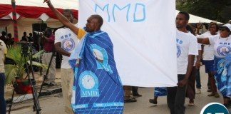 MMD during the Labour day celebrations