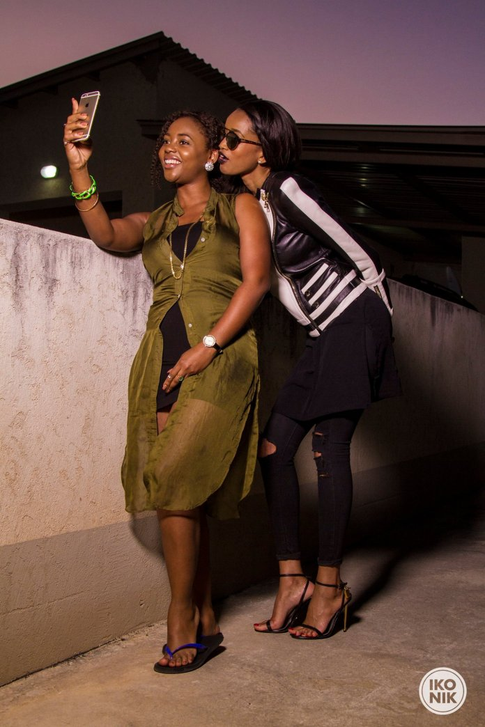 Cleo ice queen and Maria Nepembe