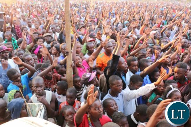 UPND Rally in Mansa
